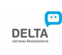 Логотип: Дельта - система безопасности