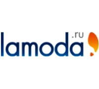 Логотип: lamoda.ru