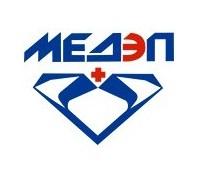 Логотип: МЕДЭП