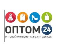 Логотип: Оптовый магазин одежды «Оптом24»