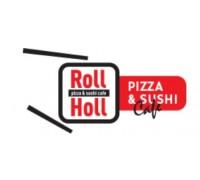 Логотип: Пицца & Суши кафе «РоллХолл»